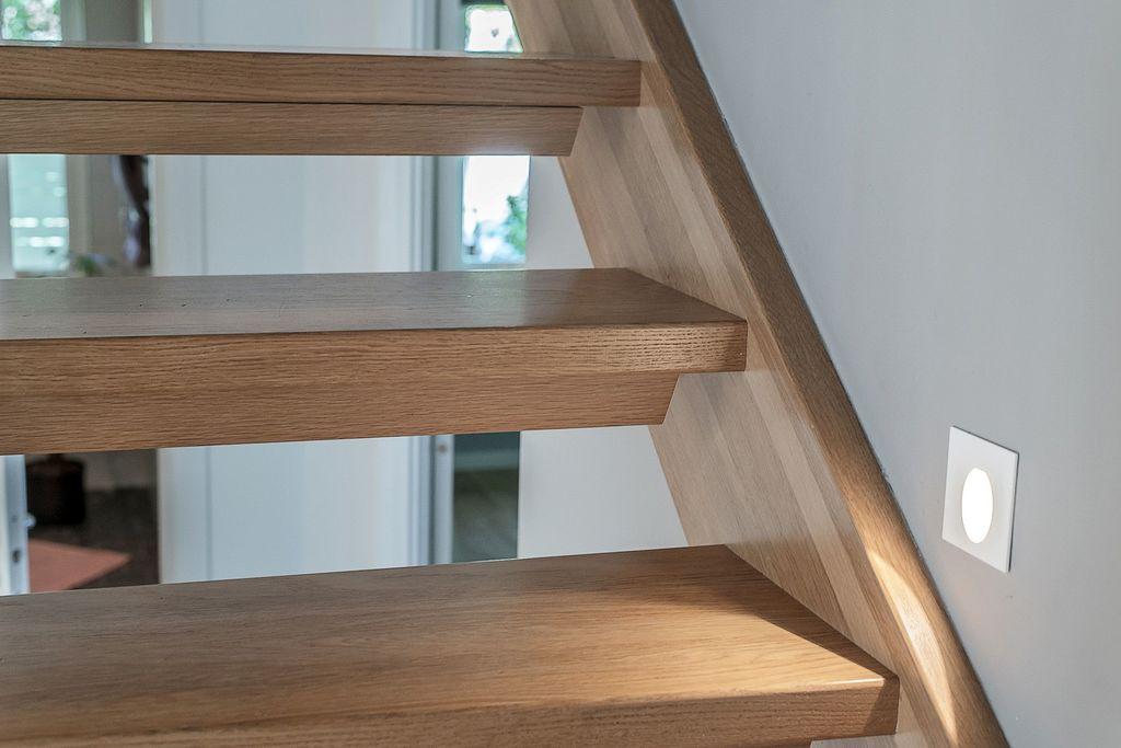 Detaljbild i trappan