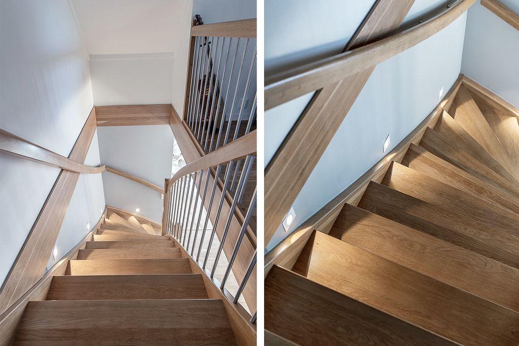 Detaljbilder i trappan