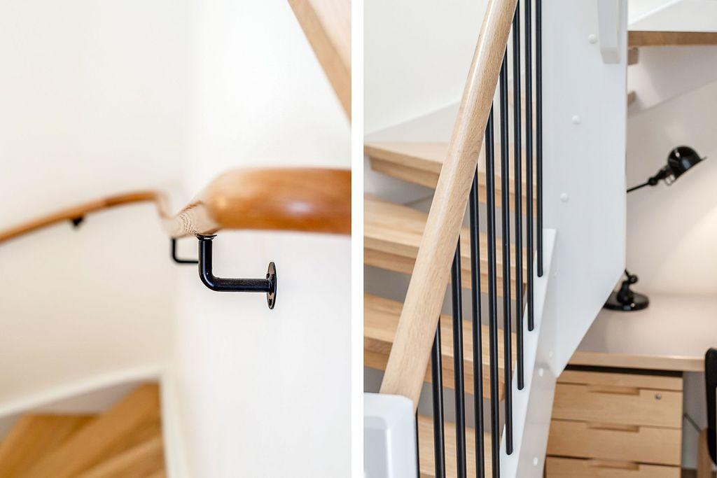 Detaljer på trappan