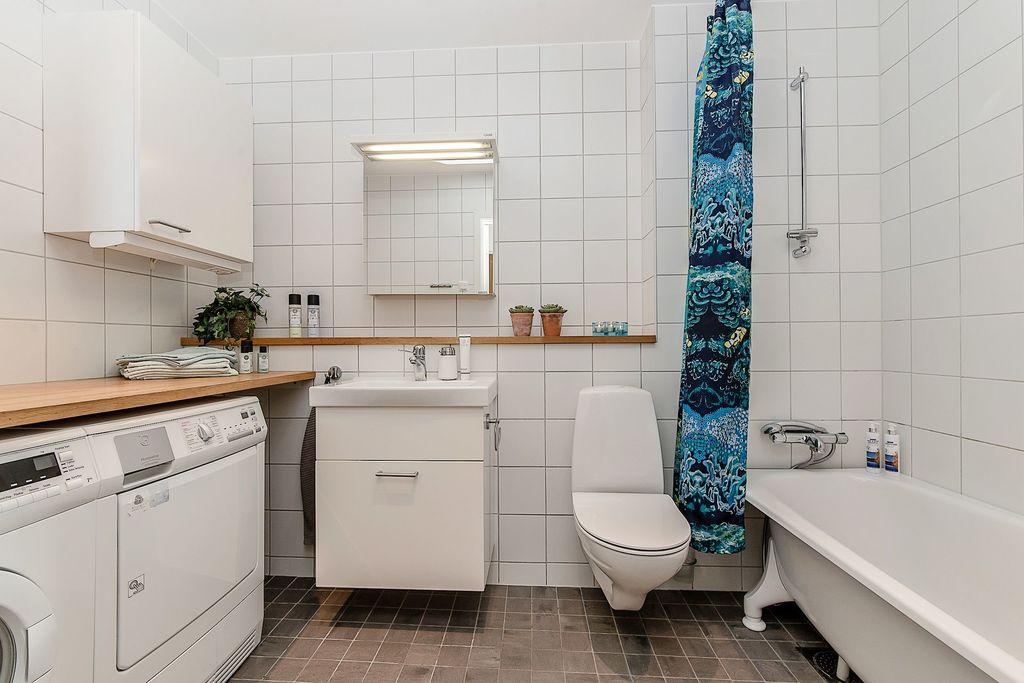 Det nedre badrummet