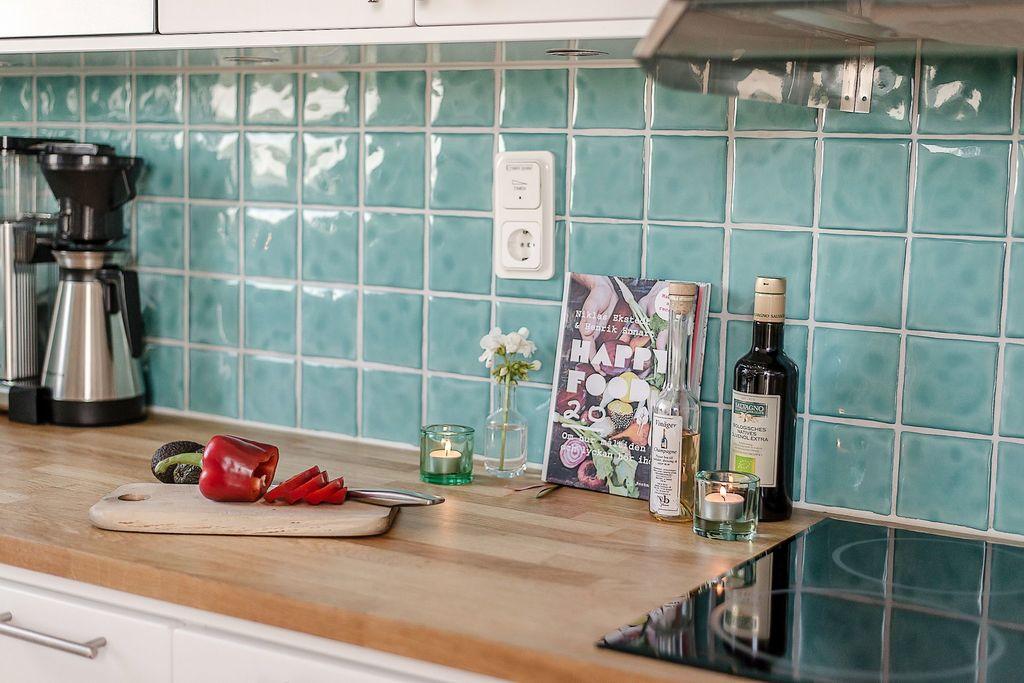 Arbetsbänken i köket