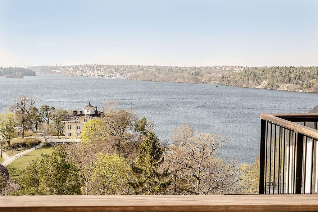 Utsikt från den övre balkongen