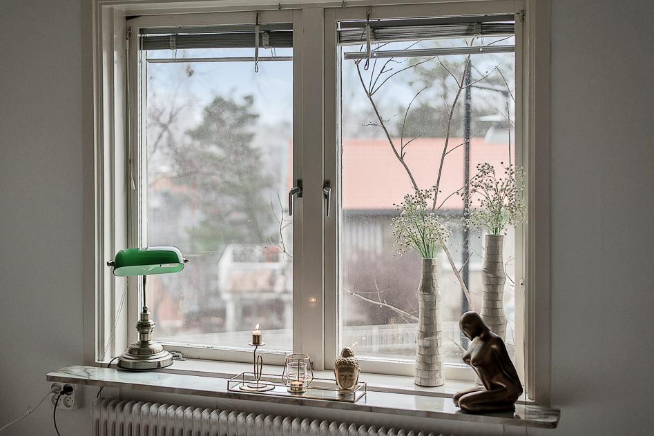 Utsikt från Master bedroom
