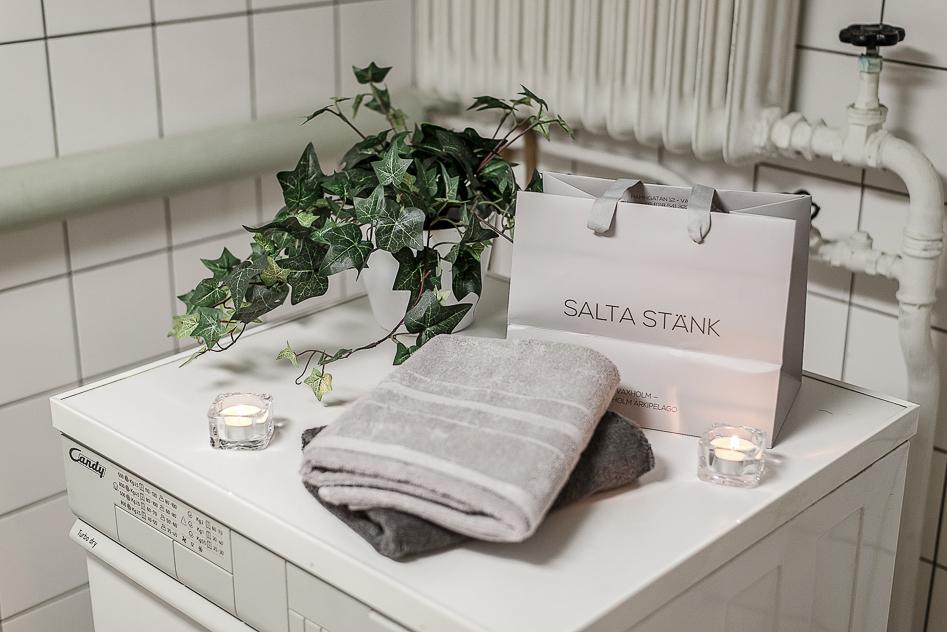 Detaljbild i tvättstugan