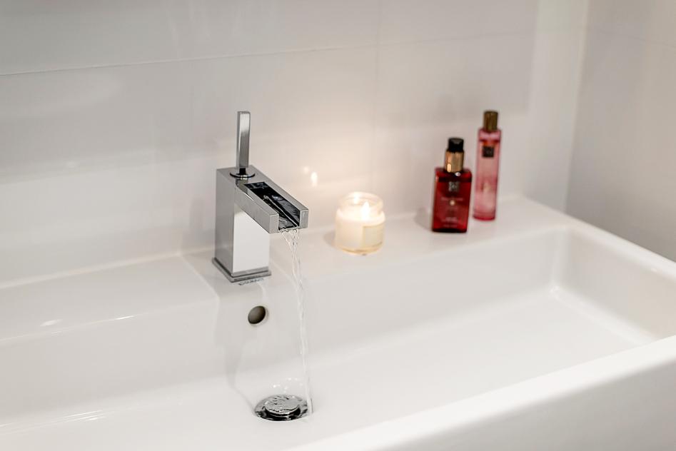 Specialkran i badrummet