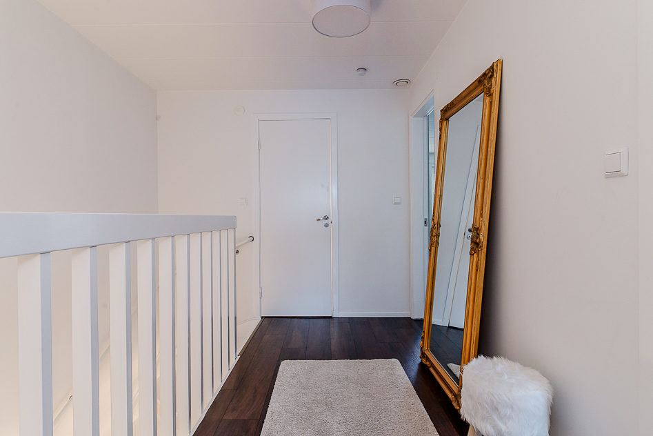 Den övre hallen med vy mot trappan