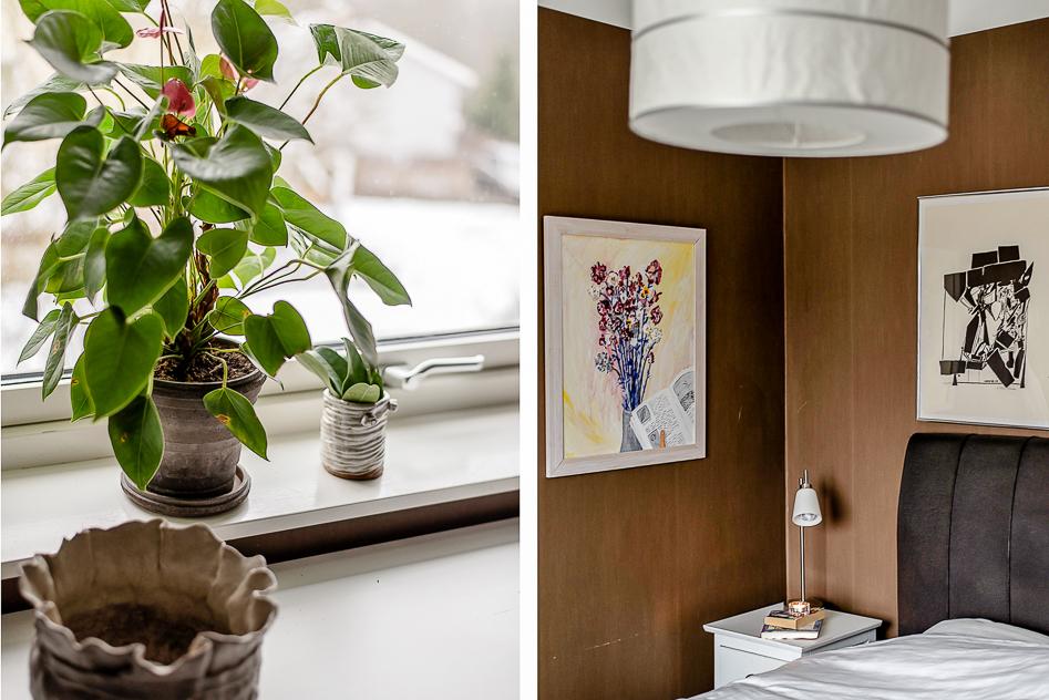 Detaljbilder i Master bedroom