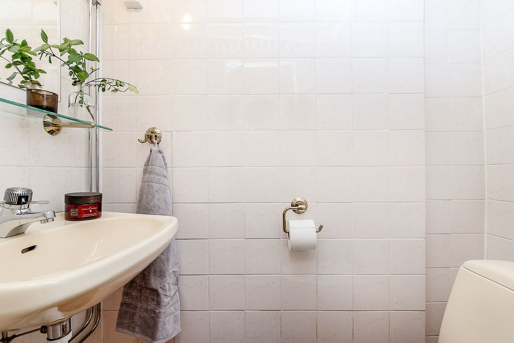 Den nedre toaletten