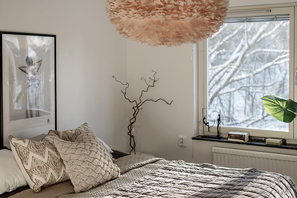 Närbild i Master bedroom