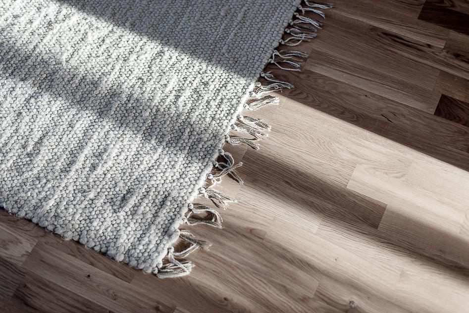 Närbild på det vackra golvet