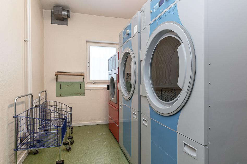 En av föreningens tvättstugor
