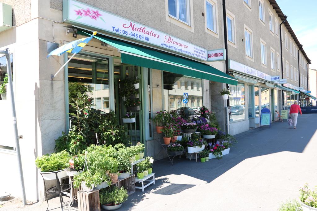 Blomsterbutik i centrum