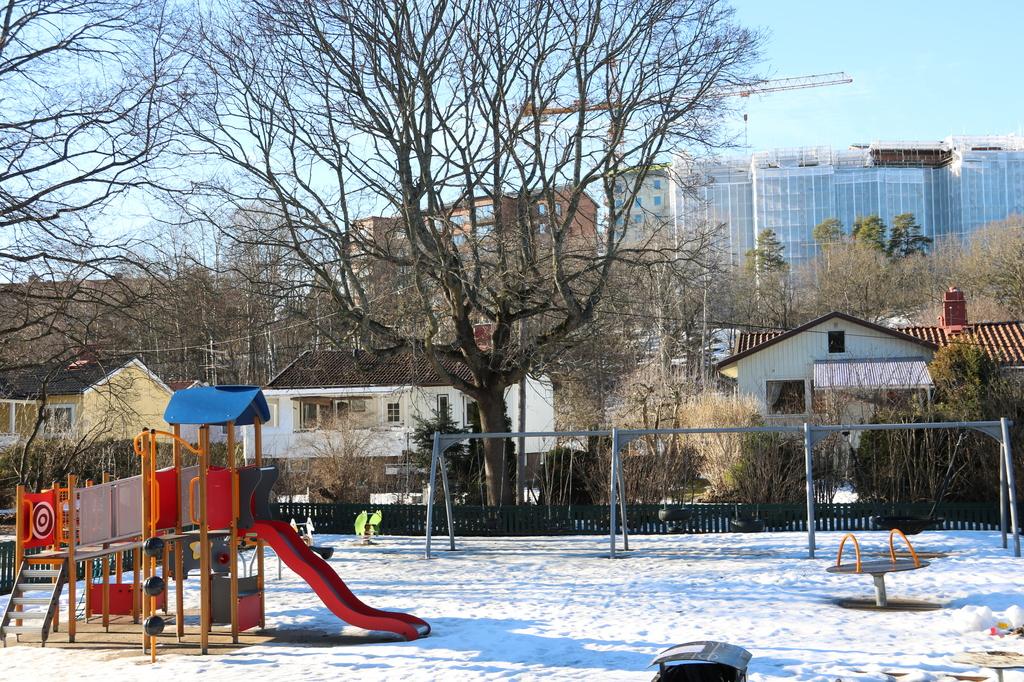 Lekpark i området