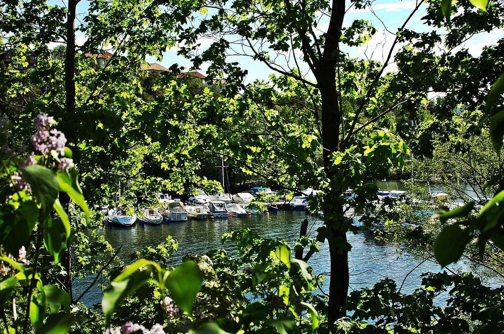 Mälarhöjdens båtklubb från Uddvillan