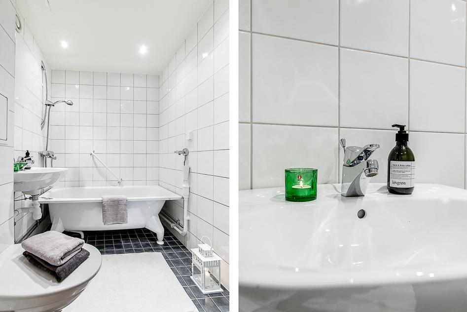 Stambytt fint badrum