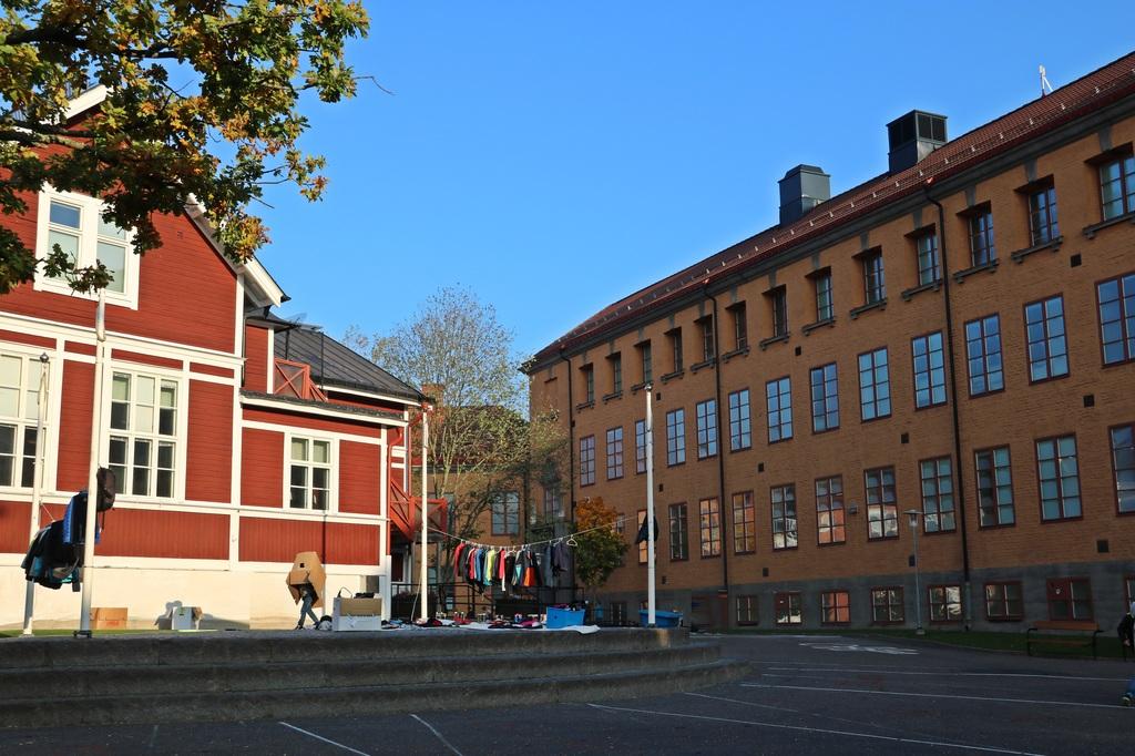 Skolgården Mälarhöjdens skola