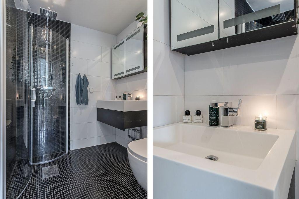 Närbilder på badrummet