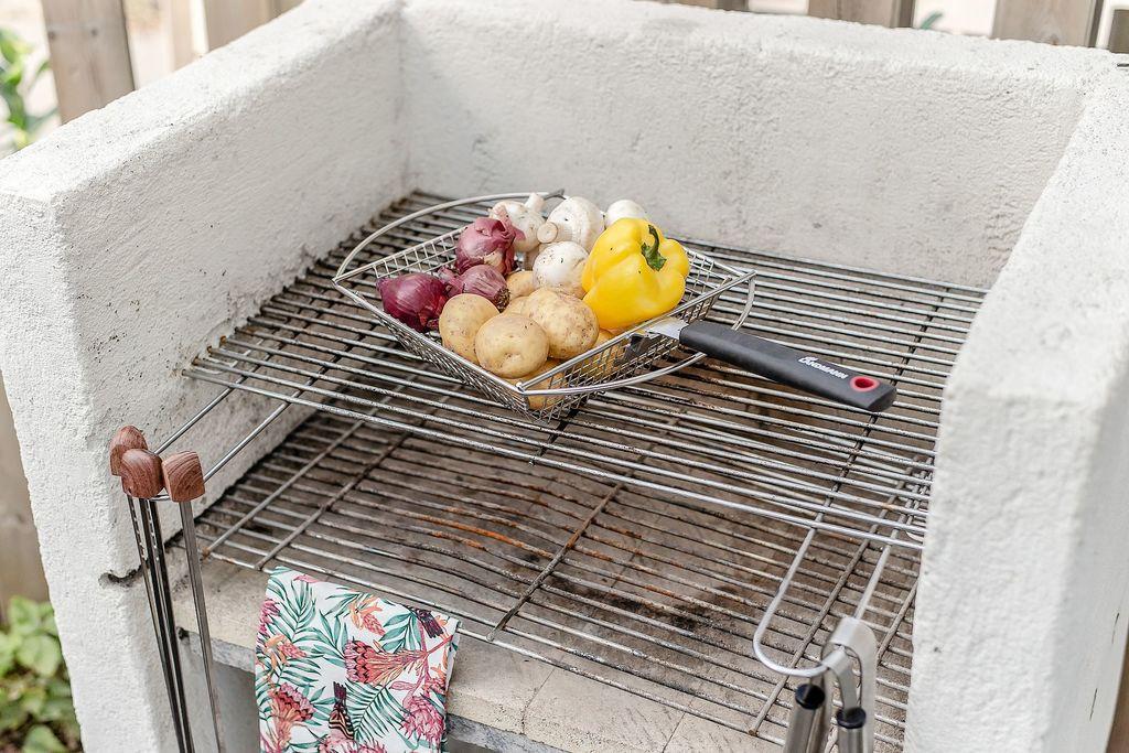 Platsbyggd grill