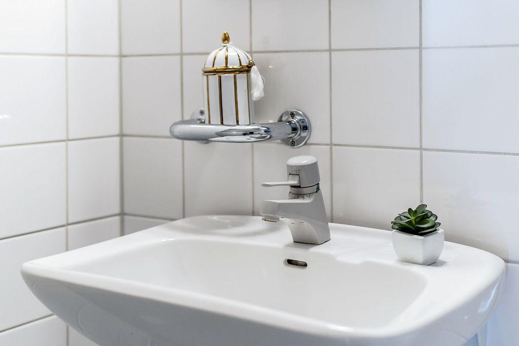 Handfat i duschrum
