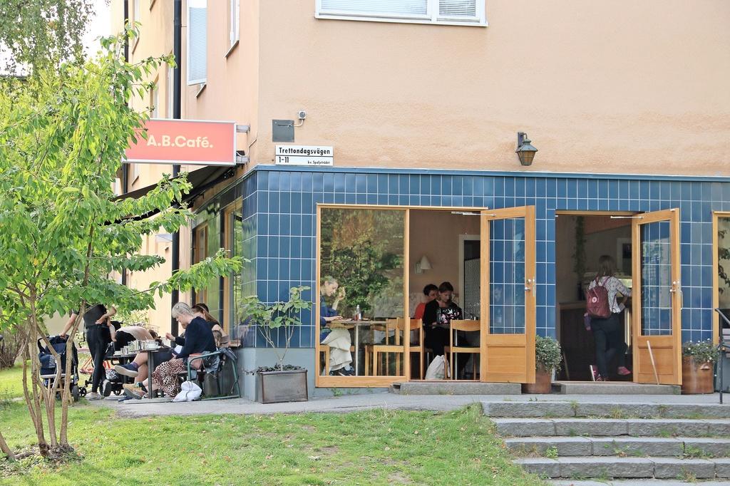 A.B.Café på Valborgsmässovägen
