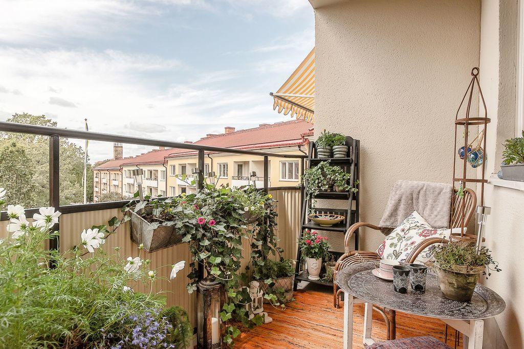 Underbar balkong