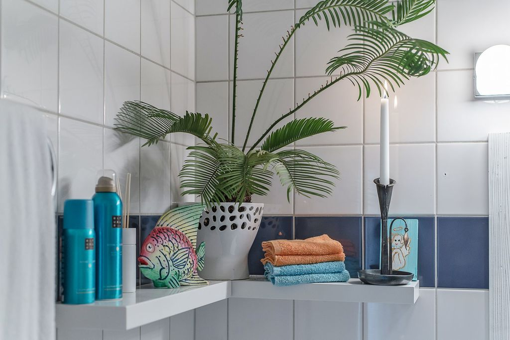 Detaljbild i badrummet