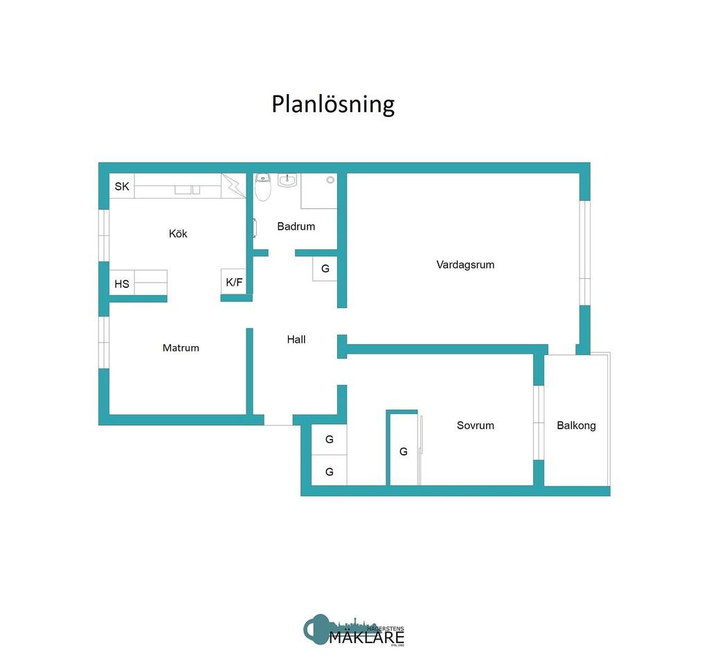 Planritning
