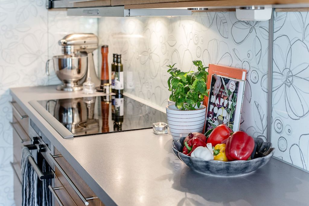 Bra arbetsbänk i köket