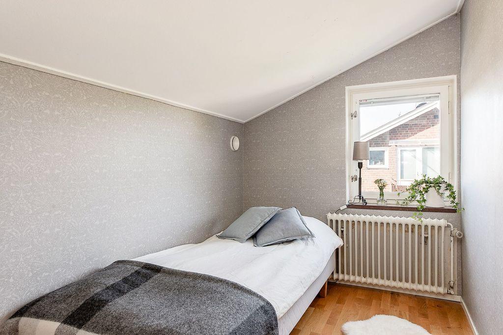 Det mindre sovrummet på övre plan