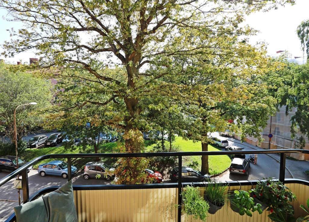 Utsikt från balkonen