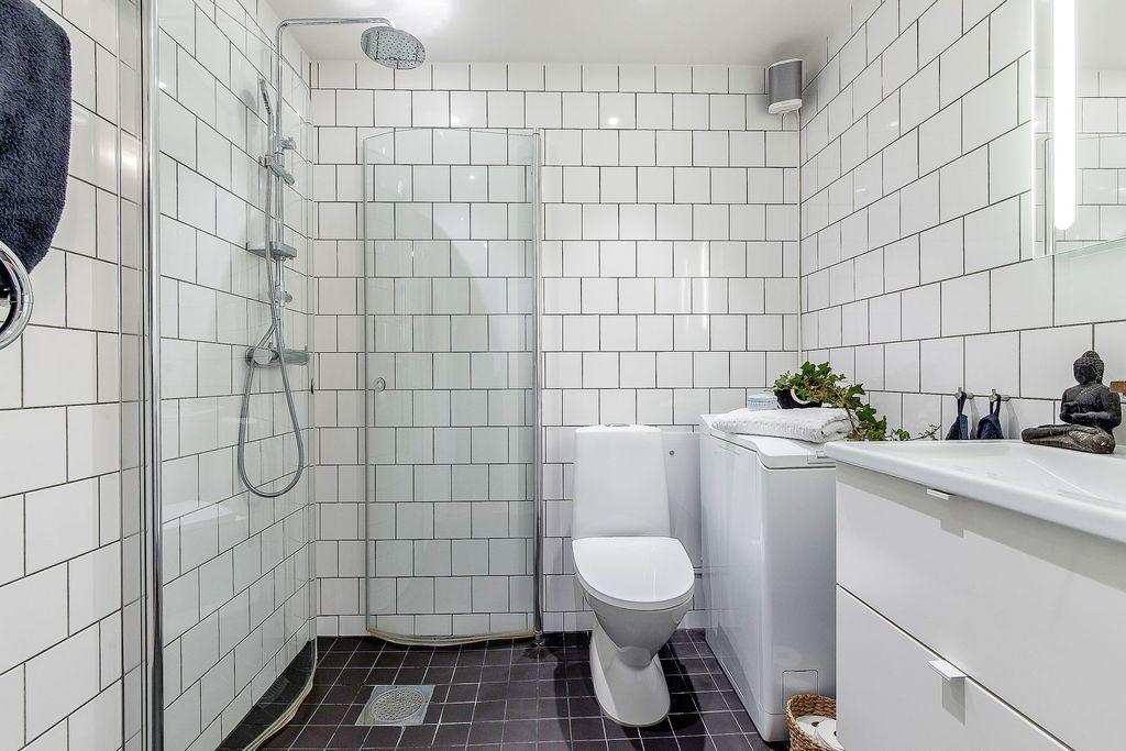 Superfint badrum