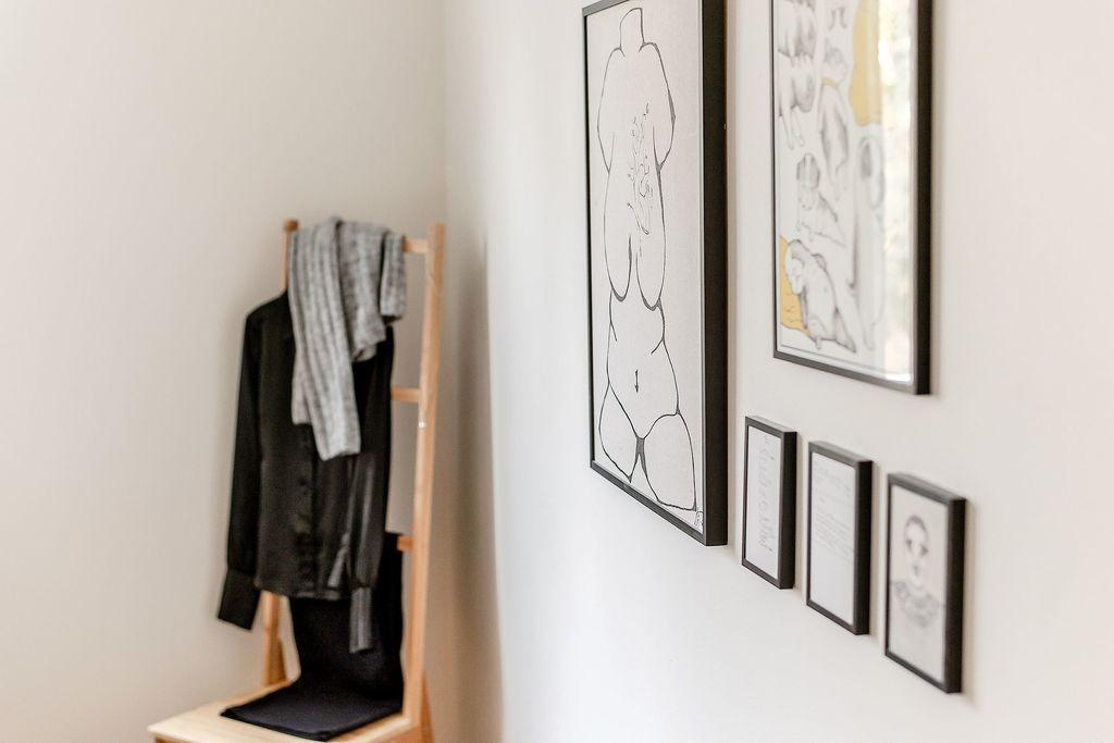 Detaljbild i Master bedroom