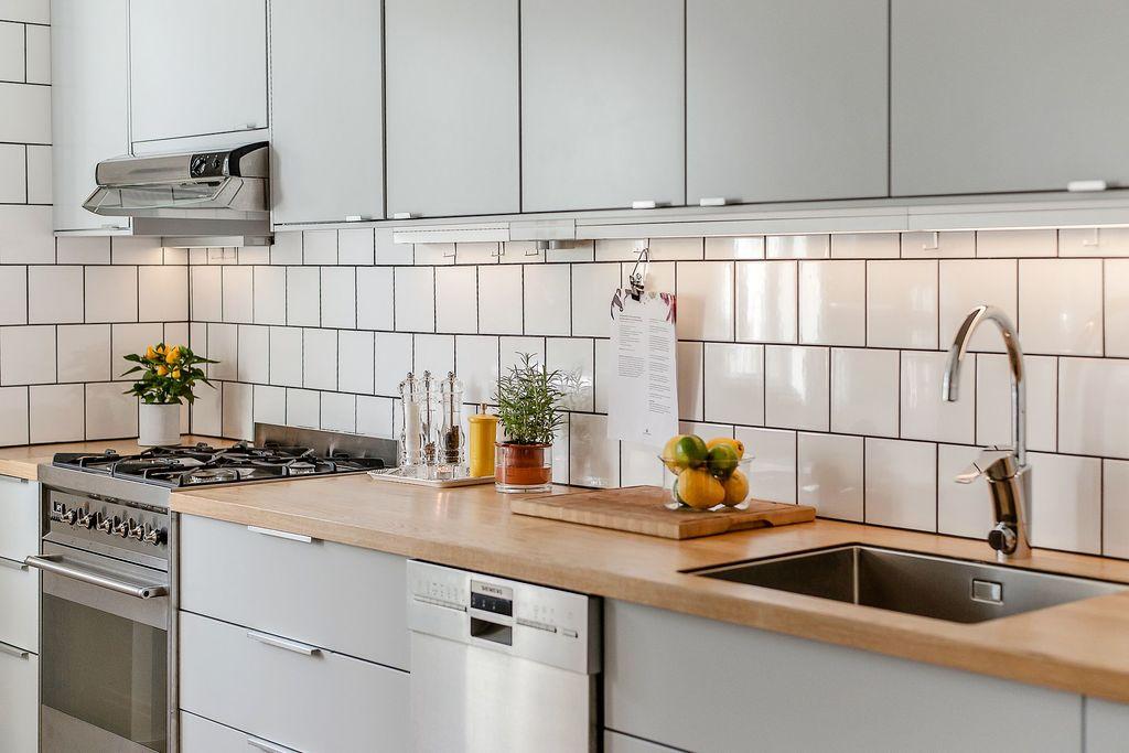 Praktiskt och stilrent kök