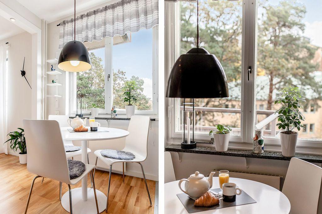 Detaljbilder på köksplatsen