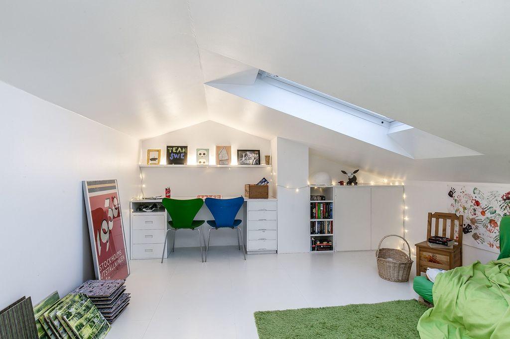 Ena rummet på vindsplanet