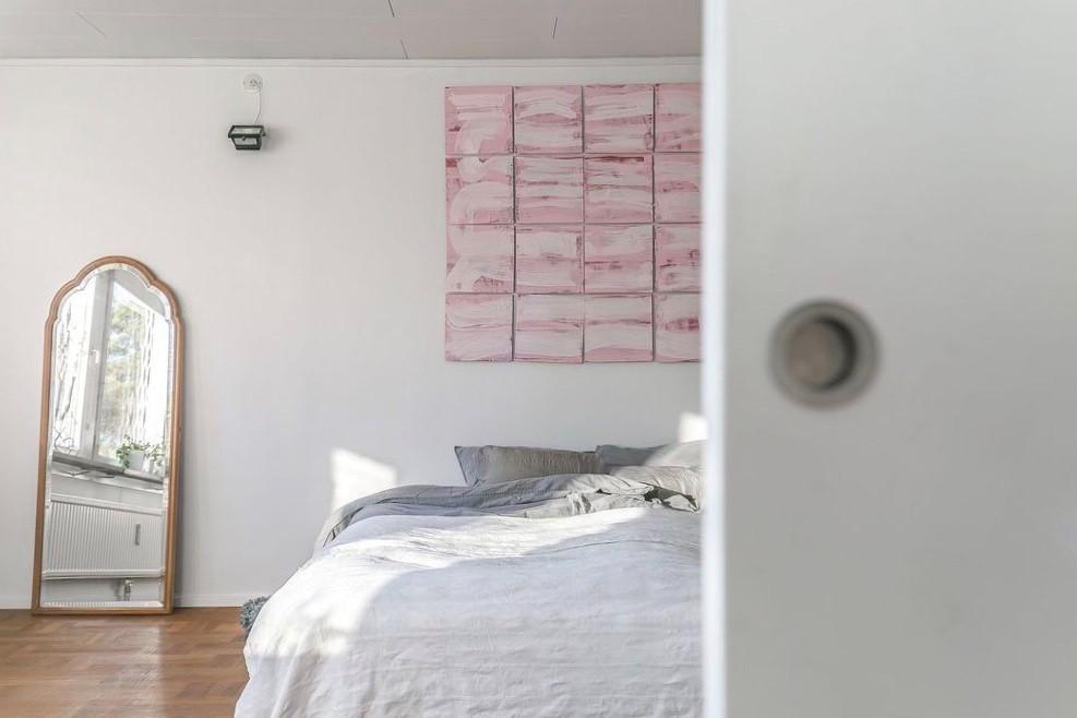 Glimt in i Master bedroom
