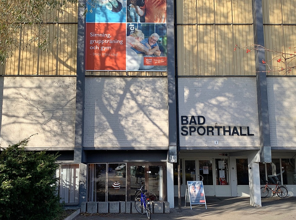 Bad och sporthall