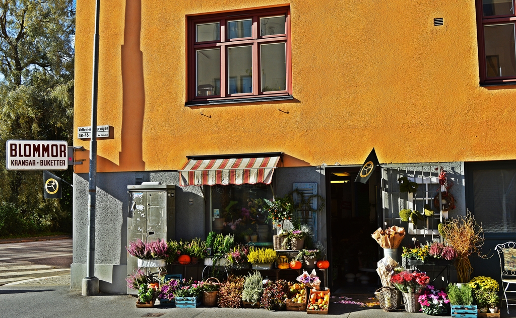 Blomsterbutik i Midsommarkransen.JPG