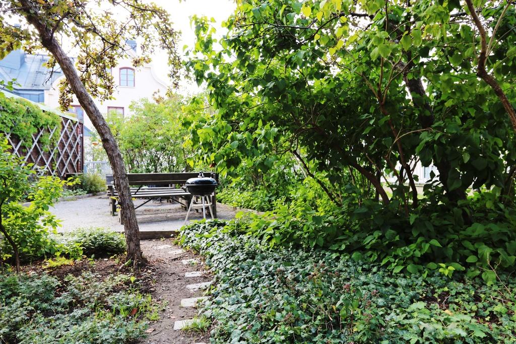 Uteplats på terrassen