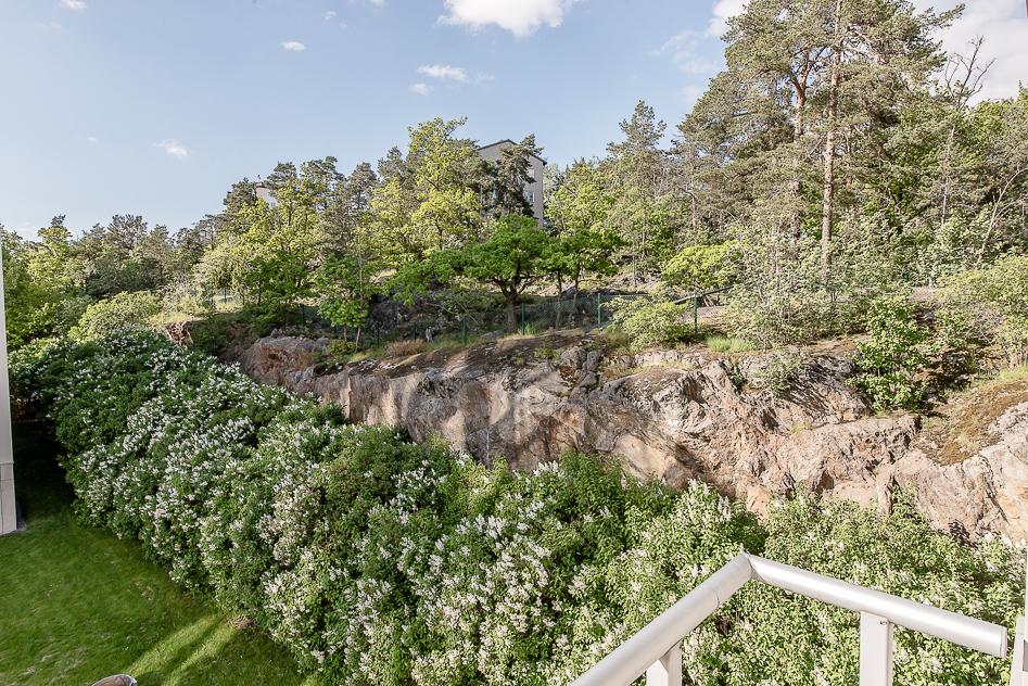 Utsikt balkong