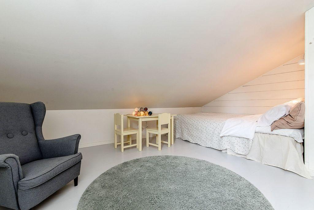 Rummet med sänghörna