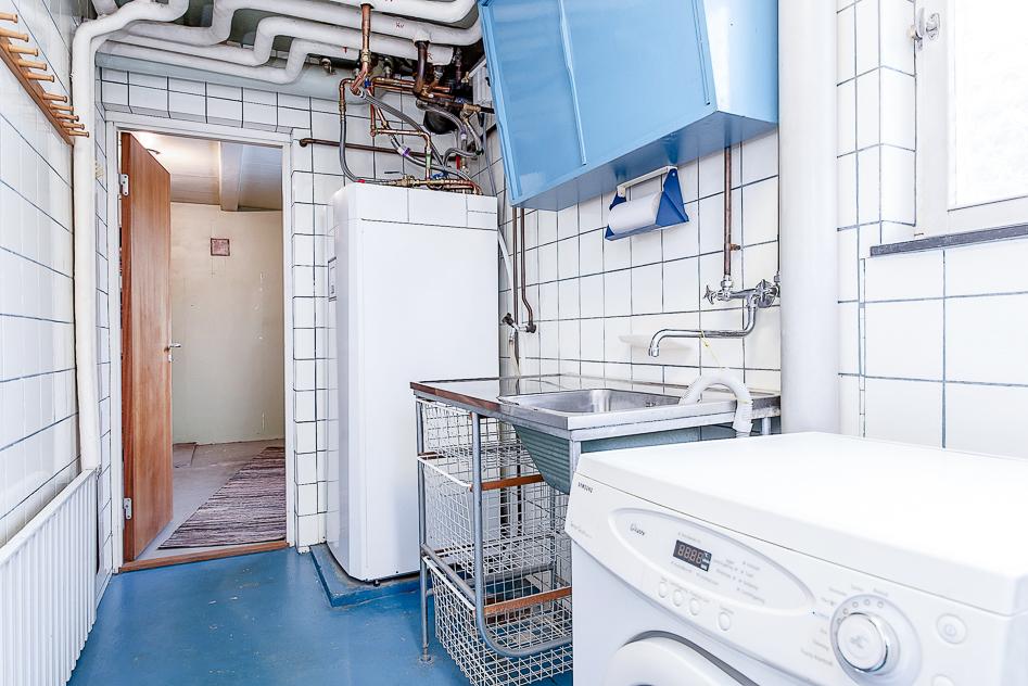 Tvättstuga och pannrum