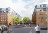 Ljust och nytt kontor med spektakulär utsikt och terrass