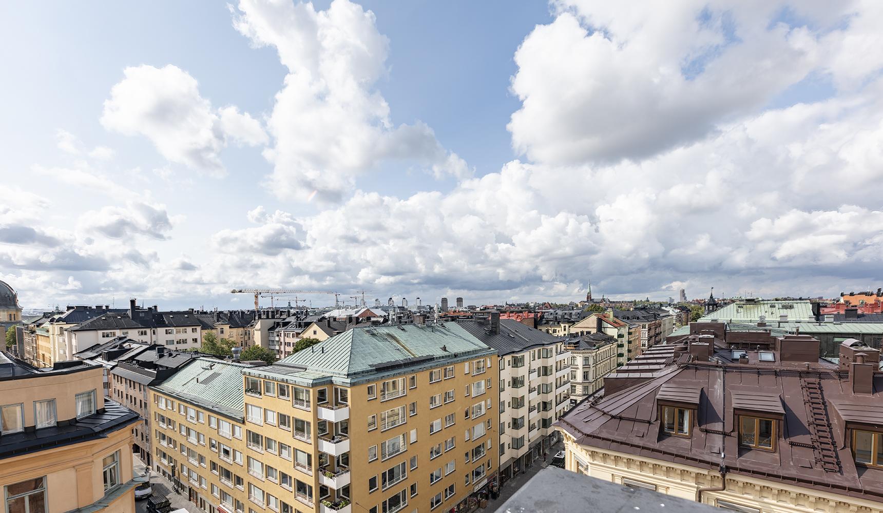 Utsikt från taket