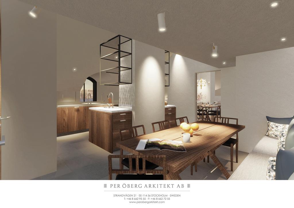 Illustration - Matplats mot kök