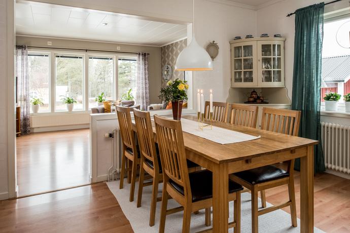 Vardagsrum och matsalsdel, Övrigt
