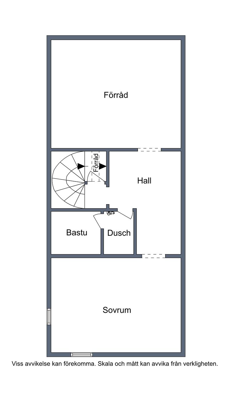 Planritning källarplan, Övrigt