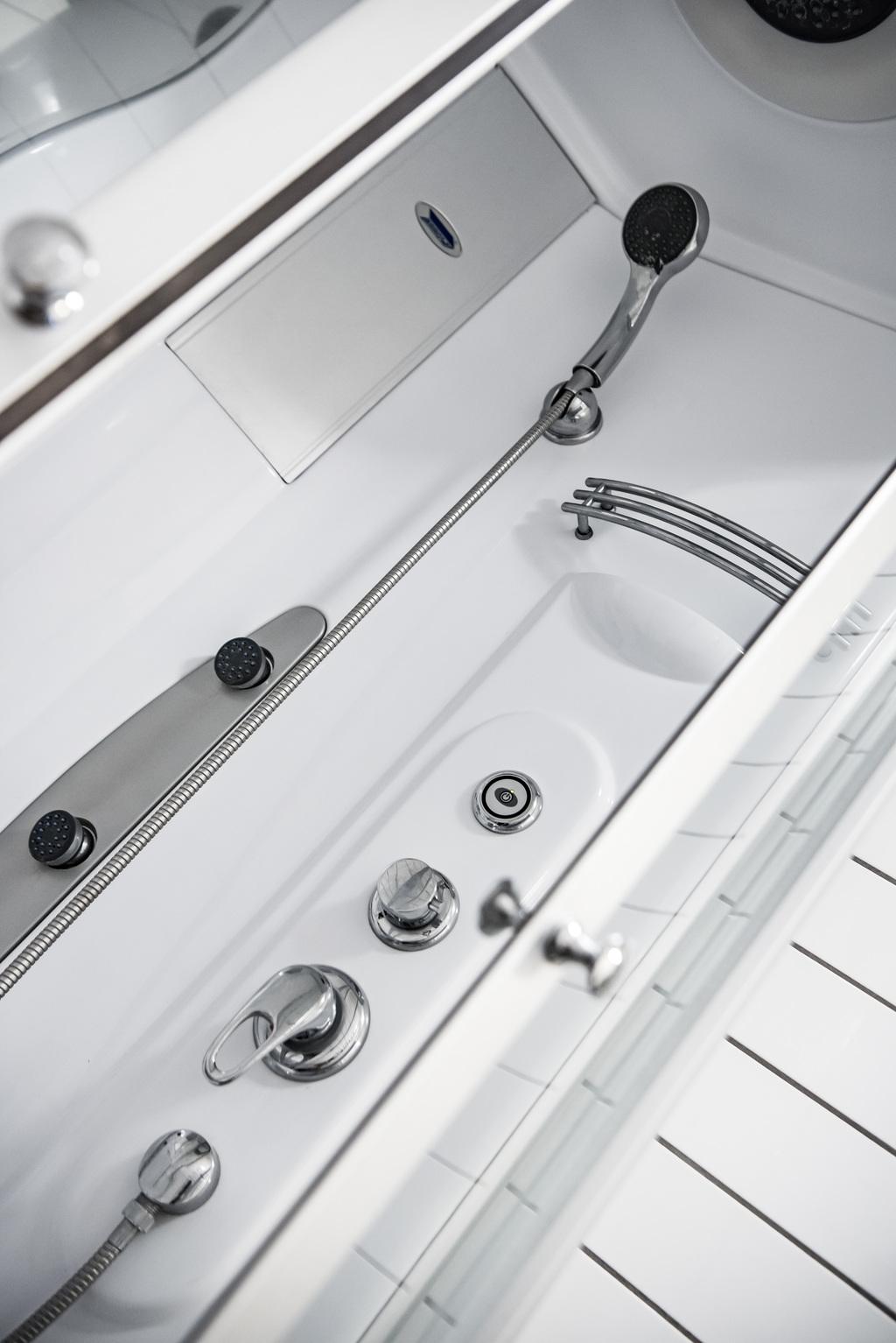 Detaljbild dusch