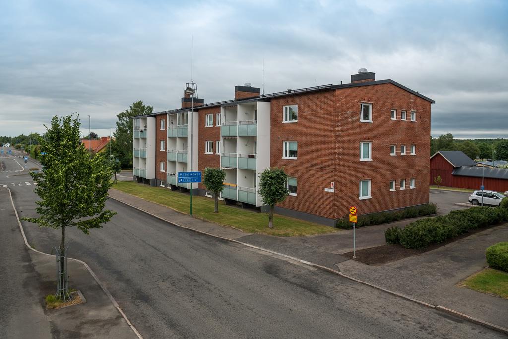 Utsiktsbild balkong