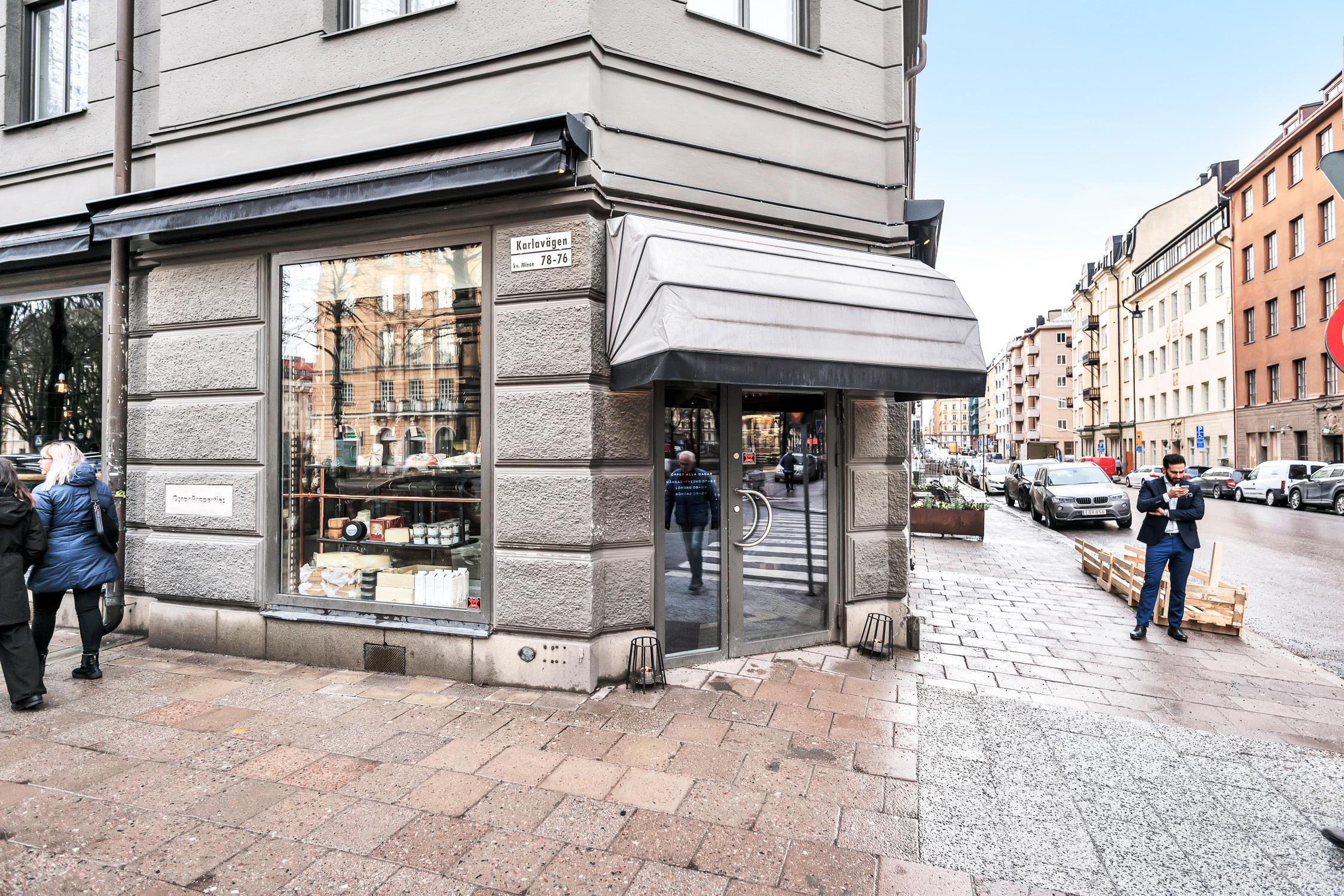 Broms restaurang Karlavägen